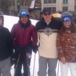 Eric, Ambreen, Jeff and Andrea   O'Halloran at Renmac Retreat  Telluride, 2013