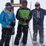 Ambreen Shah, Steve Duttenhofer and Jeff deGraaf at 12k ft in Telluride, 2013