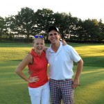 2013 RenMac Sales Golf Outing: Laura Johnson and Mike Guttag,  Winning Team