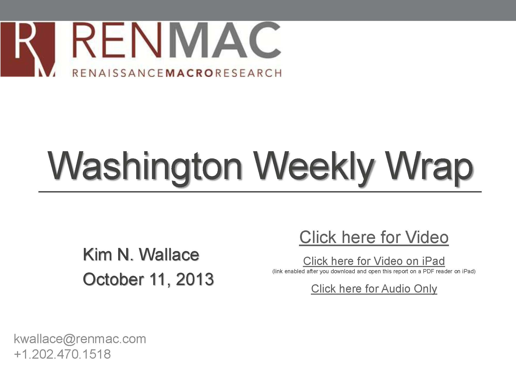 Washington Weekly Wrap 2013-10-11_Page_1