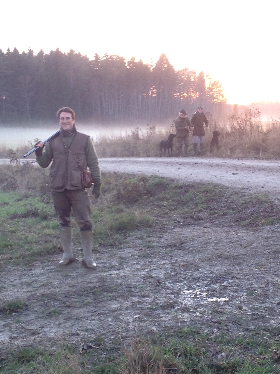 Chris Jennings Hunting  In Southern Sweden
