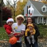 Frank, Eric, Emily &  Charlie Boucher in  Darien, CT