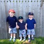 The Wysocki boys: Memorial Day 2014