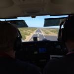 Jeff flying into Montauk International  Rwy 6