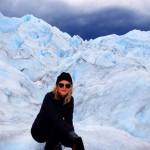 El Calafate, Patagonia, Argentina.  Hiking Perito Moreno Glacier.