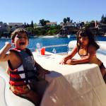 Max & Maya Velgot on vacation  in (Orange County) California