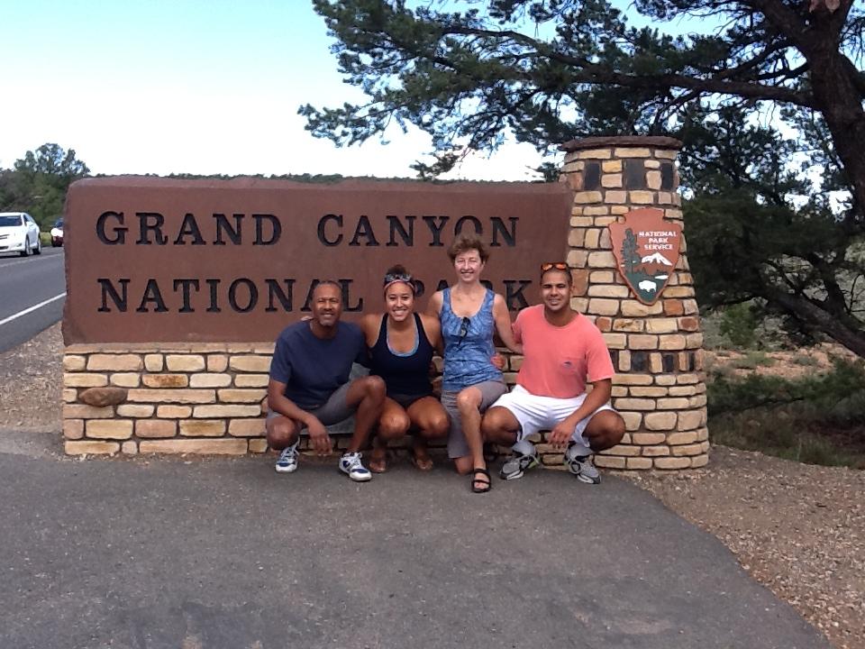 wallaces enter the Grand Canyon , 8.18.14