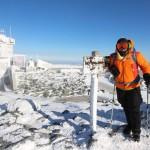 Harry Chen at Mt. Washington Summit