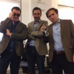 Three Men in Blazers