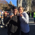 Eric & Emily.  Finished NYC 60k race.
