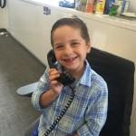 RenMac Future Intern -little Anthony age 8.