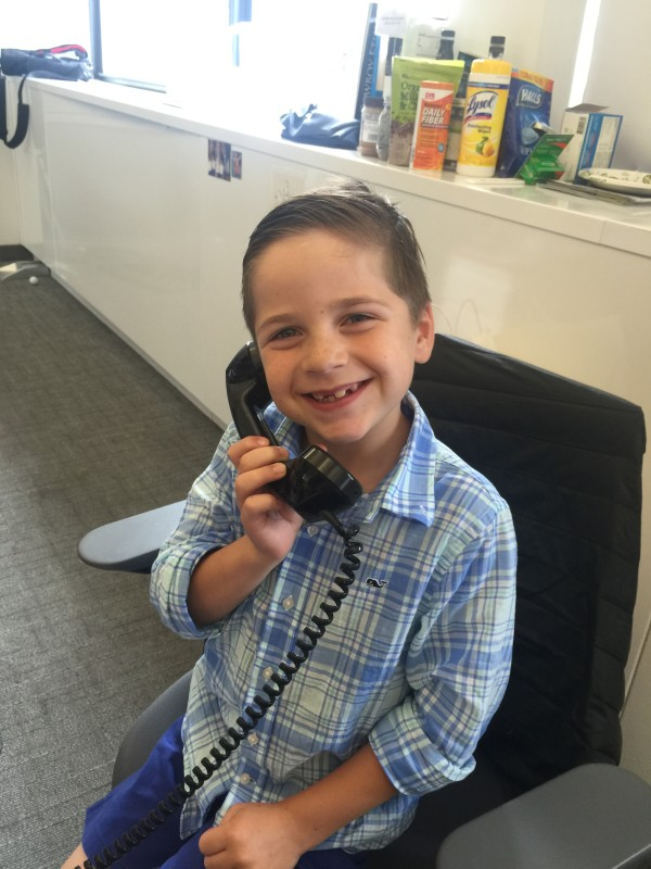 RenMac Future Intern -little Anthony age 8.